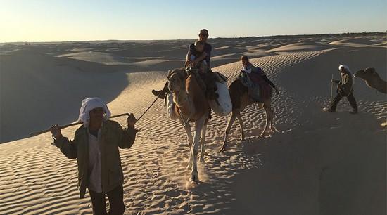 Camel Trekking Tours in Tunisia